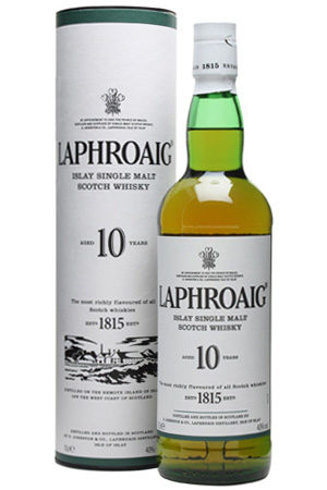 Laphroaig Scotch
