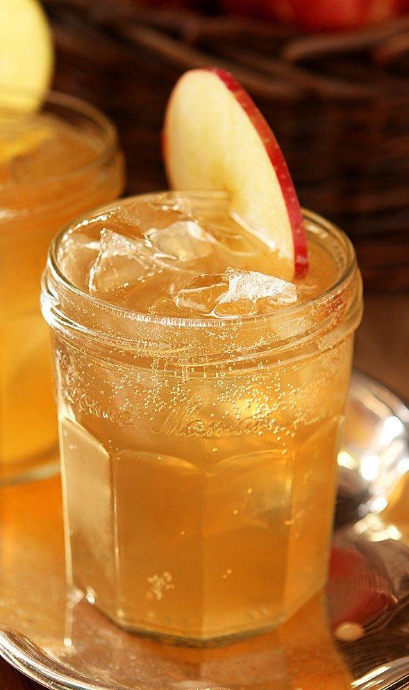 Bourbon Cider Cocktail